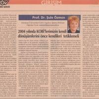 Tosyos Gazetesi Şubat 2004